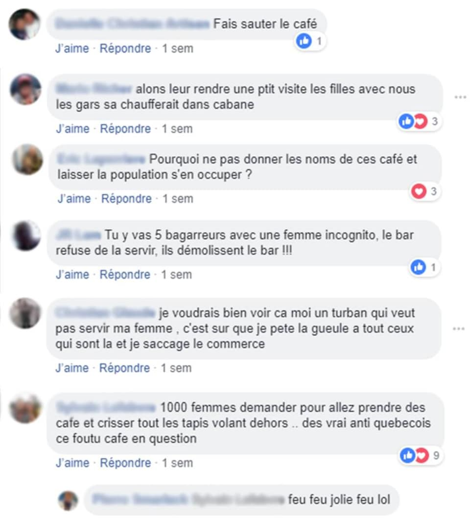 Des internautes publient des menaces sur les réseaux sociaux visant les cafés du Petit Maghreb.