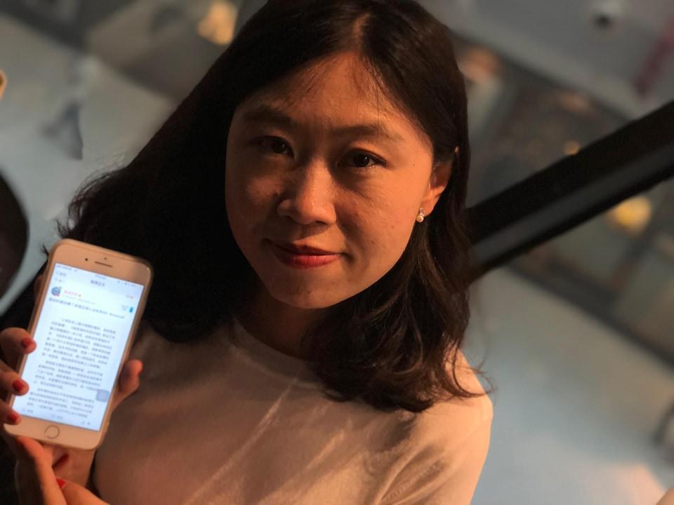 Maishao, blogueuse chinoise et militante #MeToo.