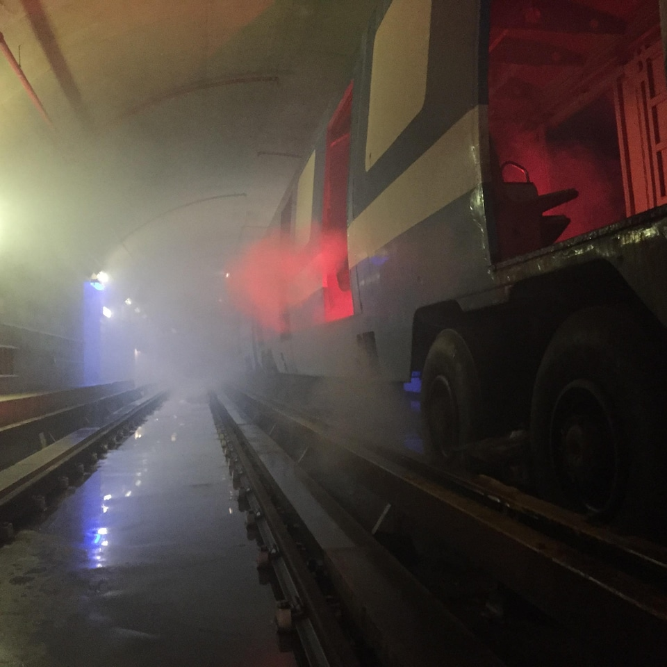 Simulation d'incendie à l'intérieur du métro de Montréal