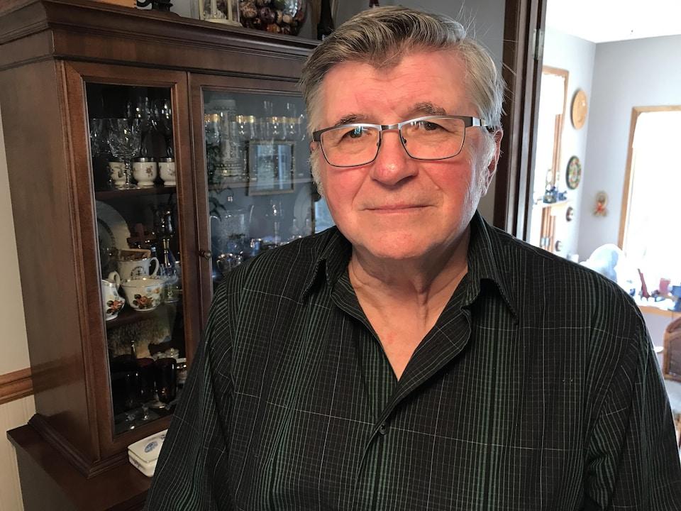 Une photo de Michael Sovyn chez lui à Saskatoon