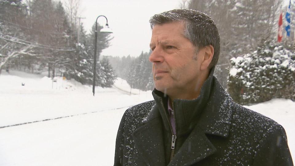 Le maire de Lac-Beauport, Michel Beaulieu