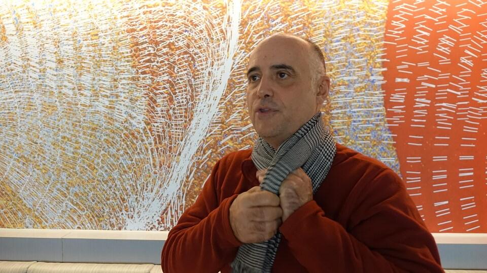 Michel Comeau, biologiste du homard.