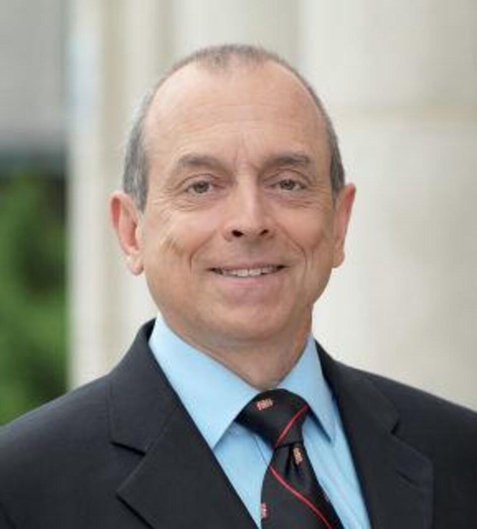 Michel Gendron, doyen de la Faculté des sciences de l'administration de l'Université Laval