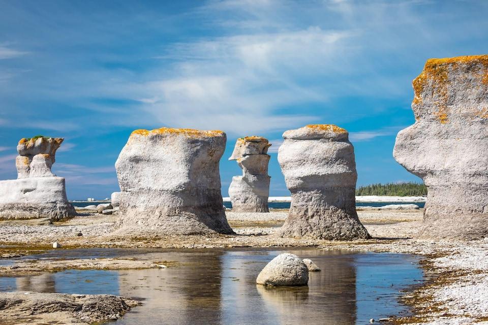 L'archipel de Mingan, dans l'œil de Mathieu Dupuis
