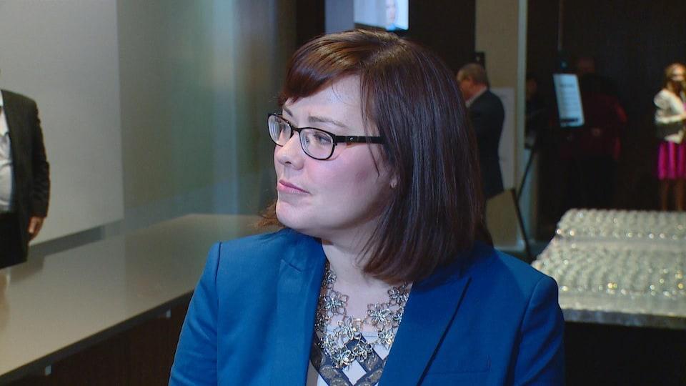 La ministre de la Justice de l'Alberta, Kathleen Ganley