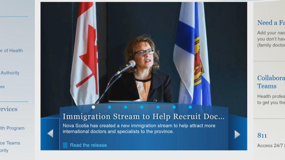 Le gouvernement de la Nouvelle-Écosse mise notamment sur l'immigration pour s'attarder à la pénurie de médecins de famille qui fait rage dans la province.
