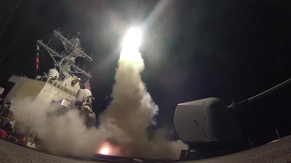 Un missile Tomahawk