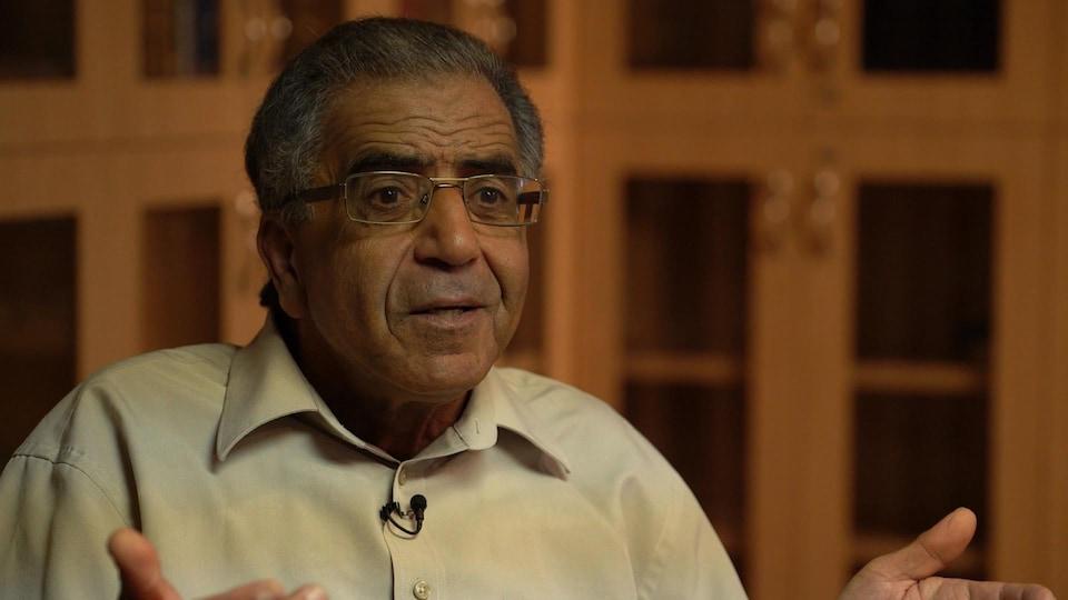Mohamed Kesri, responsable du dossier du cimetière musulman à la grande mosquée de Québec