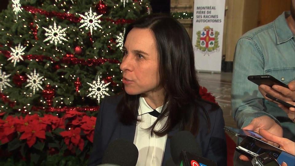 La mairesse de Montréal, Valérie Plante.