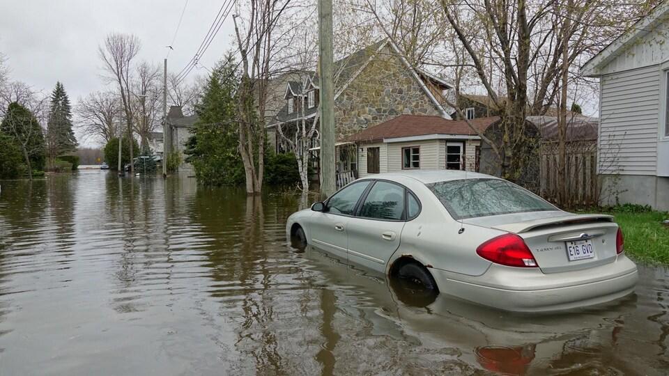Inondation à Pierrefonds