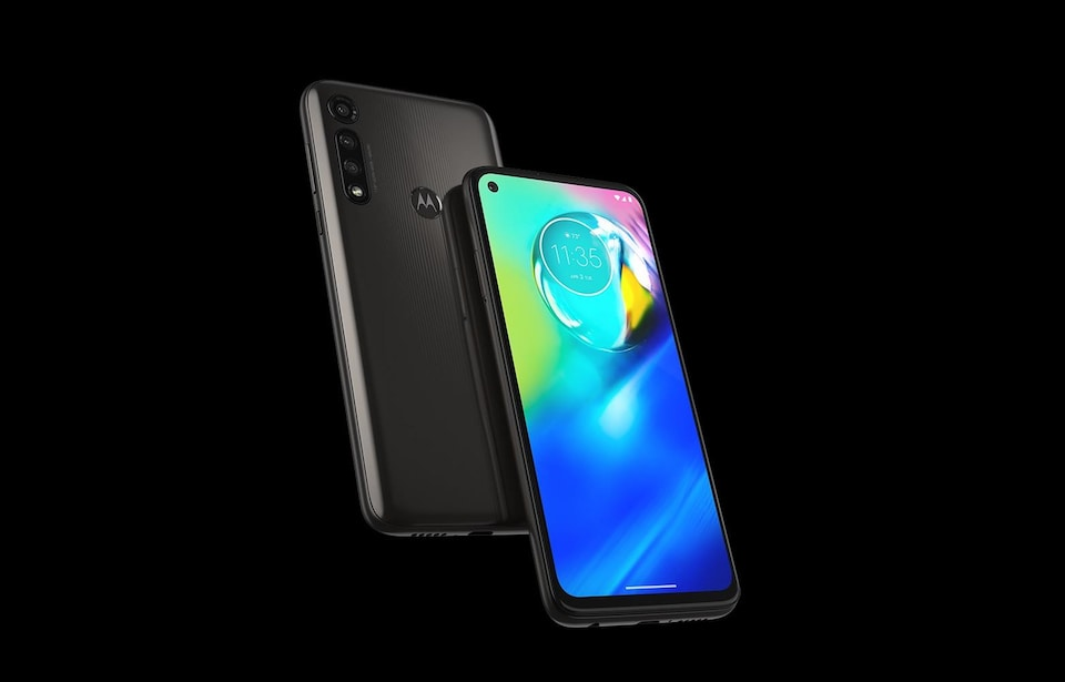 Le téléphone Moto G Power de Motorola.