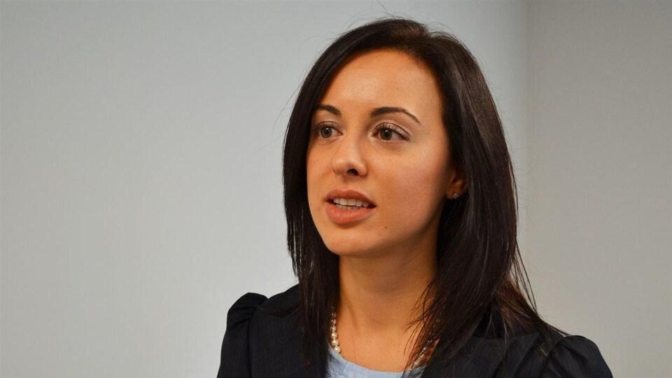 Nadia Effendi est la présidente de l'AJEFO.
