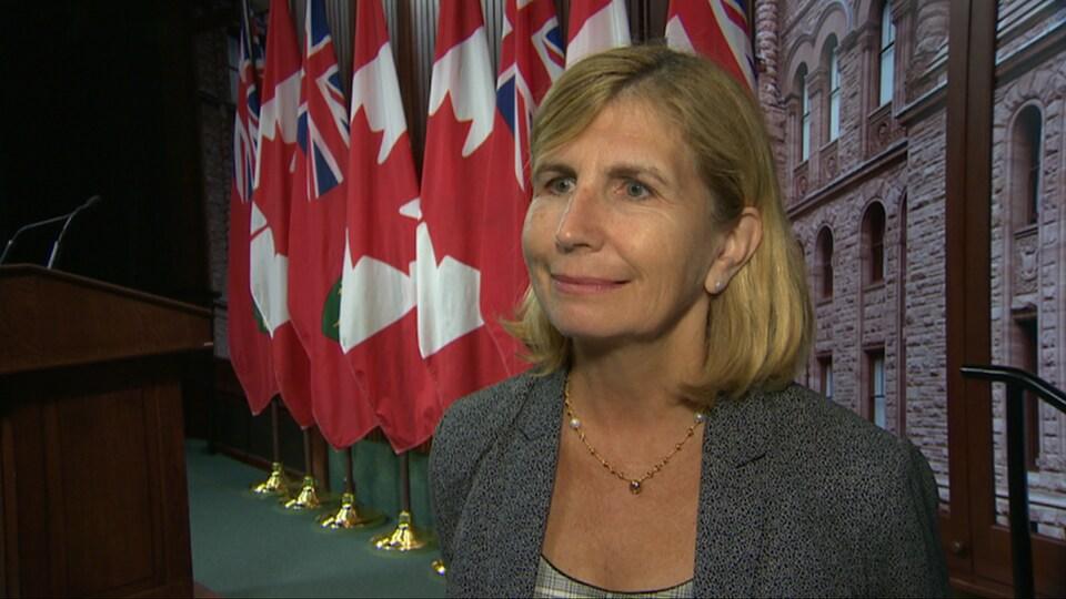 La députée provinciale d'Ottawa-Vanier, Nathalie Des Rosiers