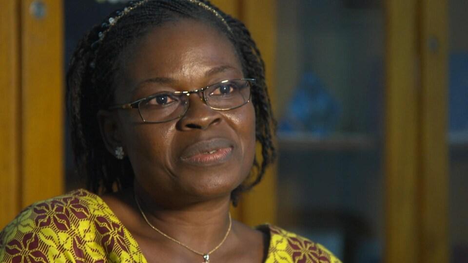 Nathalie Kouakou, présidente de la section ivoirienne d'Amnistie internationale