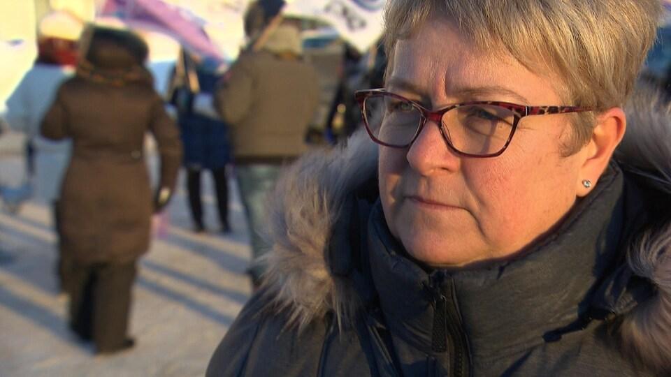 Nathalie Savard est présidente du syndicat qui représente les infirmières du nord-est québécois