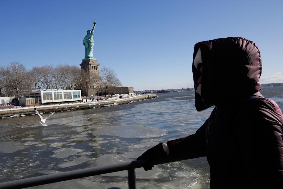 La Statue de la liberté, à New York.