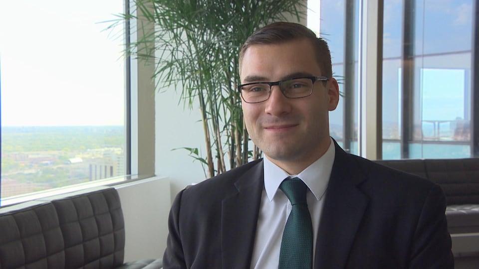 L'avocat franco-manitobain Nicolas Joubert