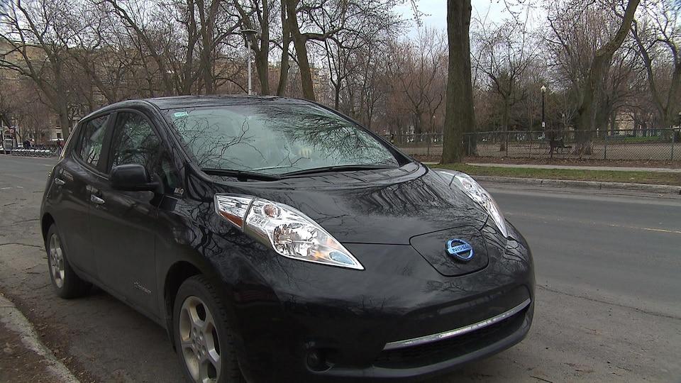 La voiture Leaf de Nissan