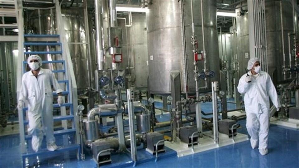 Centrale nucléaire en Iran