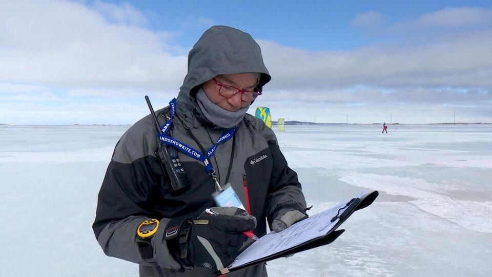 Le directeur technique de la Fédération internationale de kite, Olivier Mouragues.