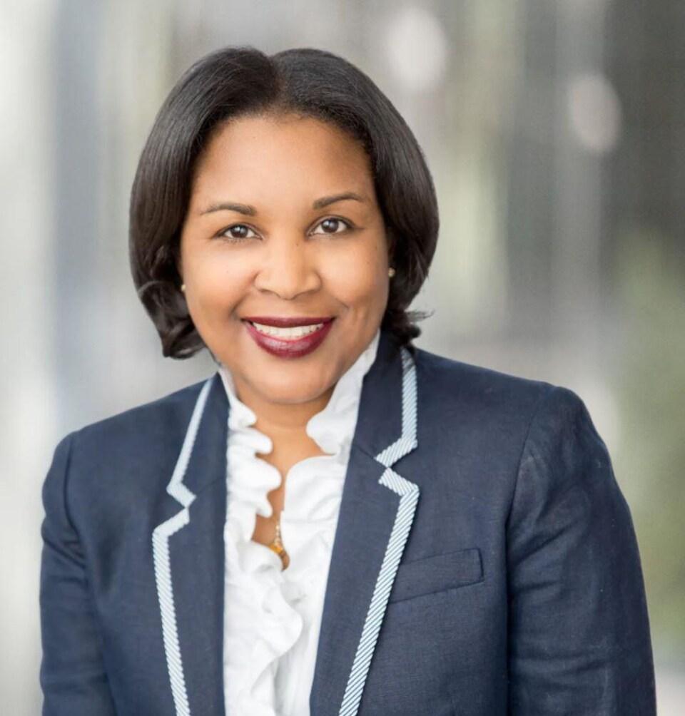La présidente de l'organisme « Operation Black Vote Canada », Velma Morgan.