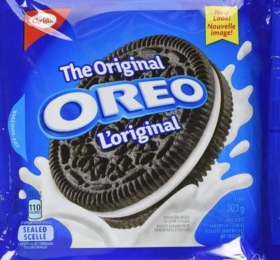 Un sac de biscuits Oreo.