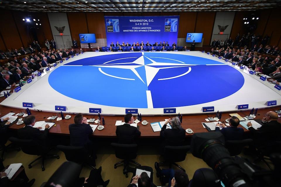 Le Conseil de l'Atlantique Nord, plus haute autorité de l'OTAN, s'est réuni jeudi, dans le cadre de la réunion des ministres des Affaires étrangères des pays membres de l'OTAN qui se tient actuellement à Washington.