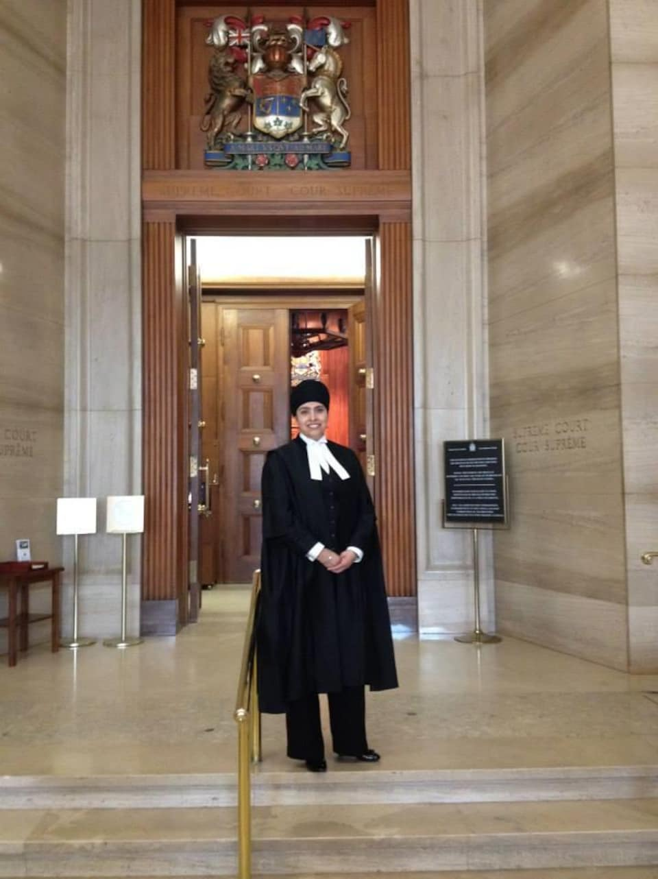 Palbinder Kaur Shergill  à la Cour suprême du Canada