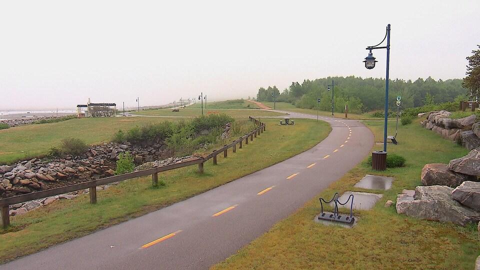 Le Parc des Pionniers à Baie-Comeau