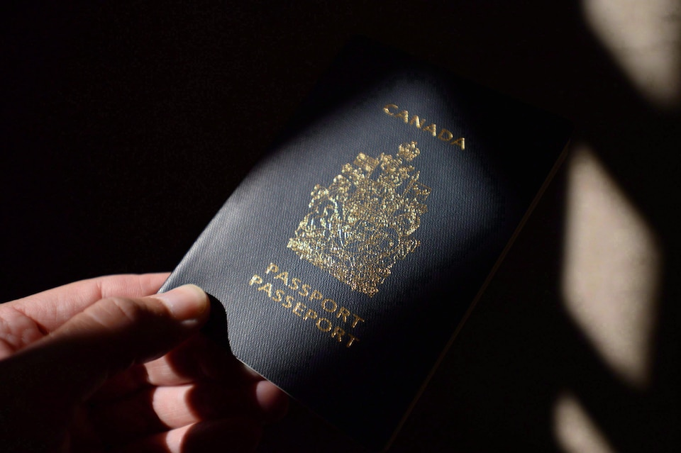 Un passeport canadien