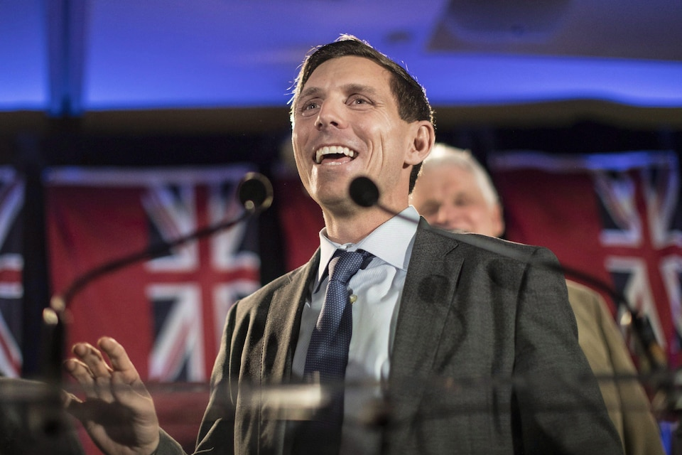 Patrick Brown, souriant.