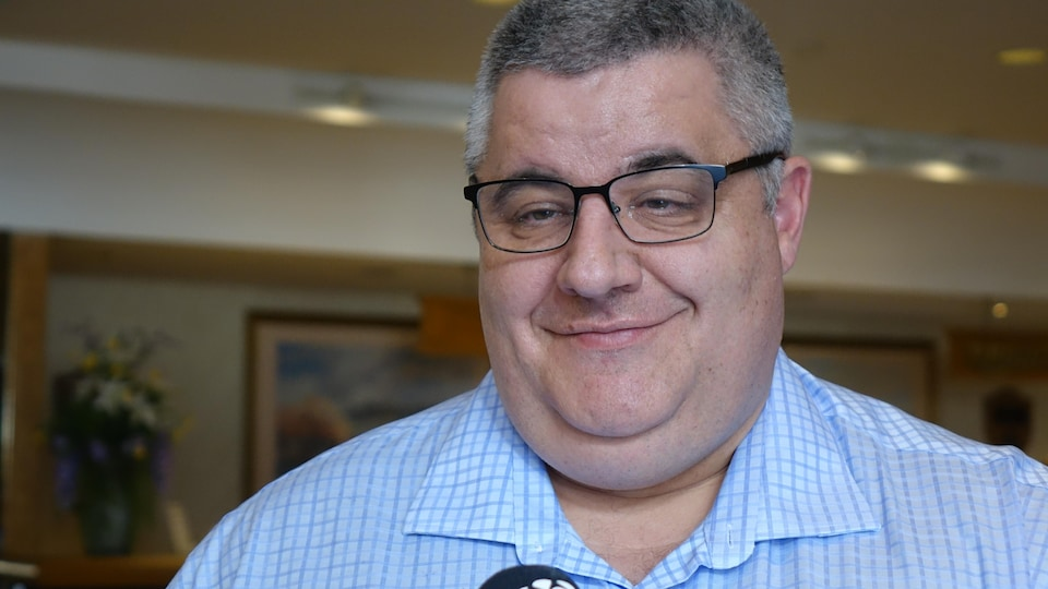 Le représentant syndical national du SCFP, Patrick Roy.