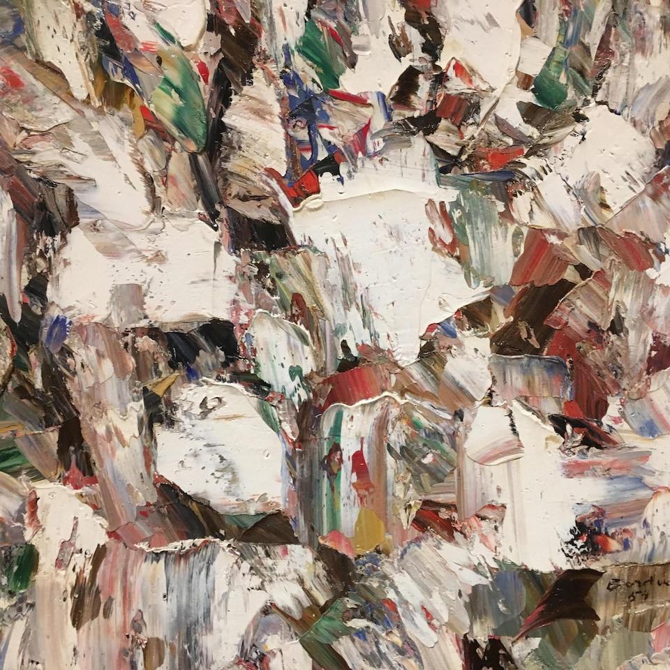 «Miroir de givre», Paul-Émile Borduas,1954, New York