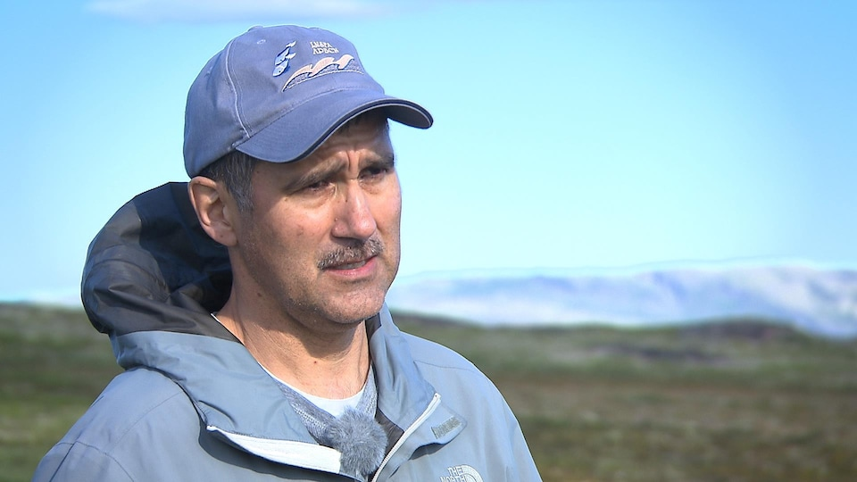 Paul Nadeau, de l'Association des pêcheurs de la Basse-Côte-Nord