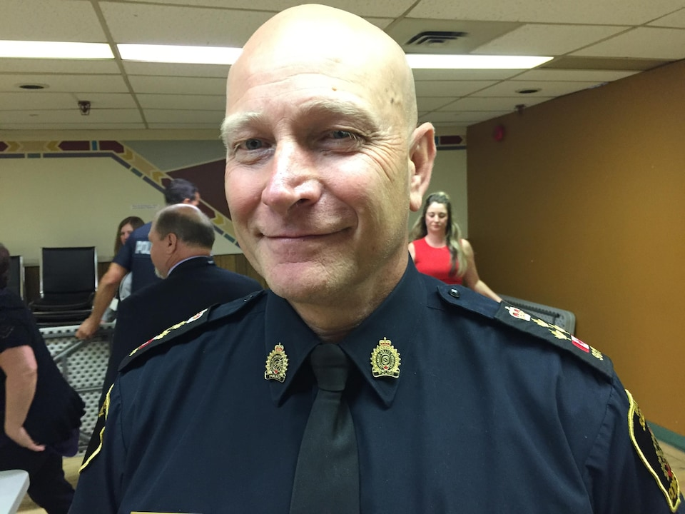Paul Pedersen, chef de police du Grand Sudbury
