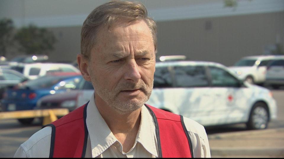 Le porte-parole de la Croix-Rouge à Saskatoon, Rod Orr