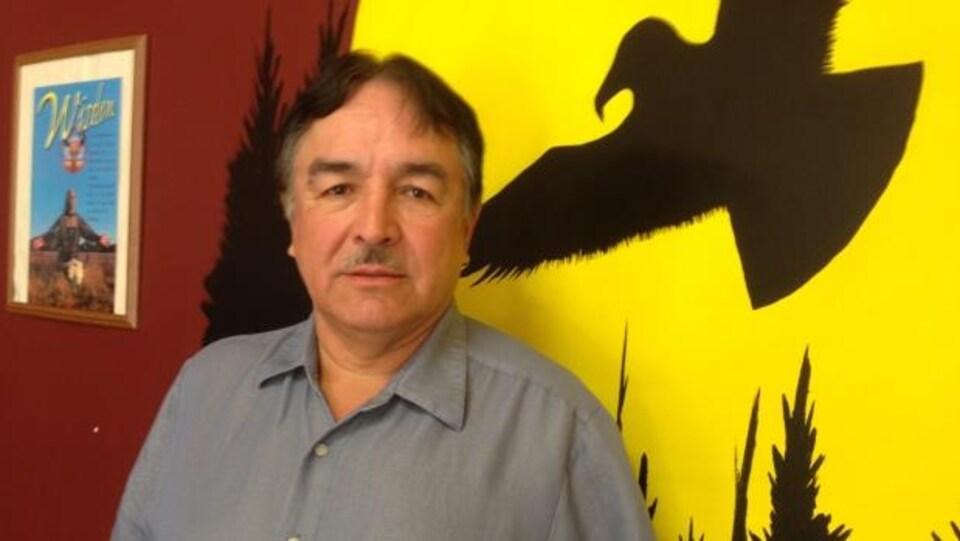 Le chef de la Première Nation Fort William, Peter Collins.