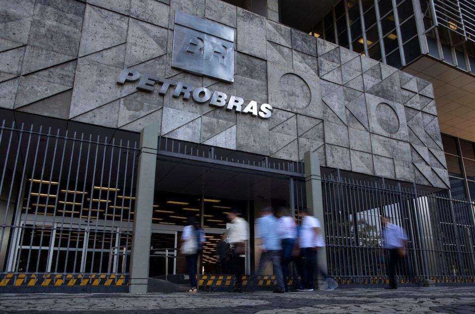 Le siège social de Petrobras à Rio de Janeiro