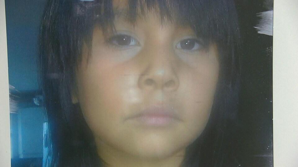 Photo de la jeune fille morte à l'âge de 8 ans