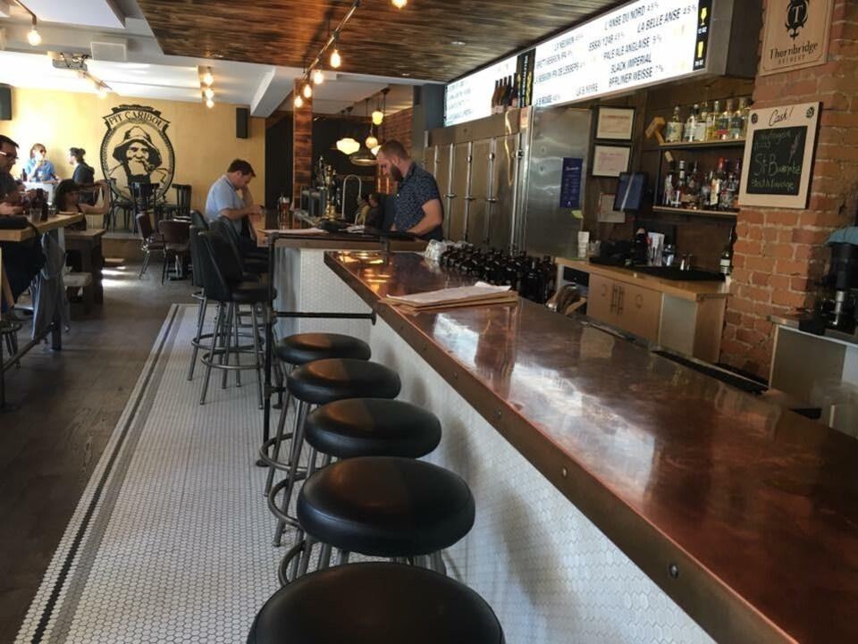 Le lancement de la Route des bières de l'Est-du-Québec aura lieu au pub Pit Caribou de Montréal.