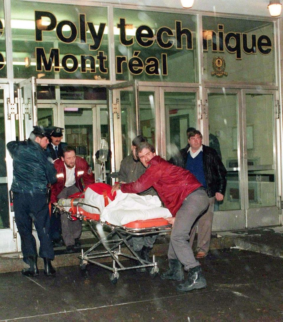Une des victimes de l'attentat à l'École polytechnique, le 6 décembre 1989