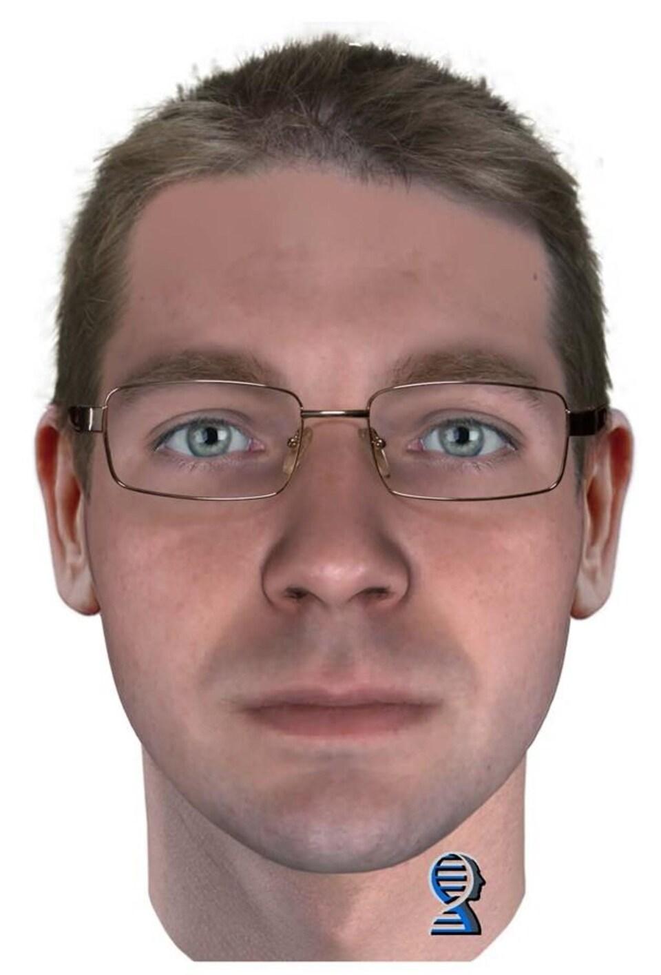 Portrait-robot du suspect du meurtre de Renee Sweeney