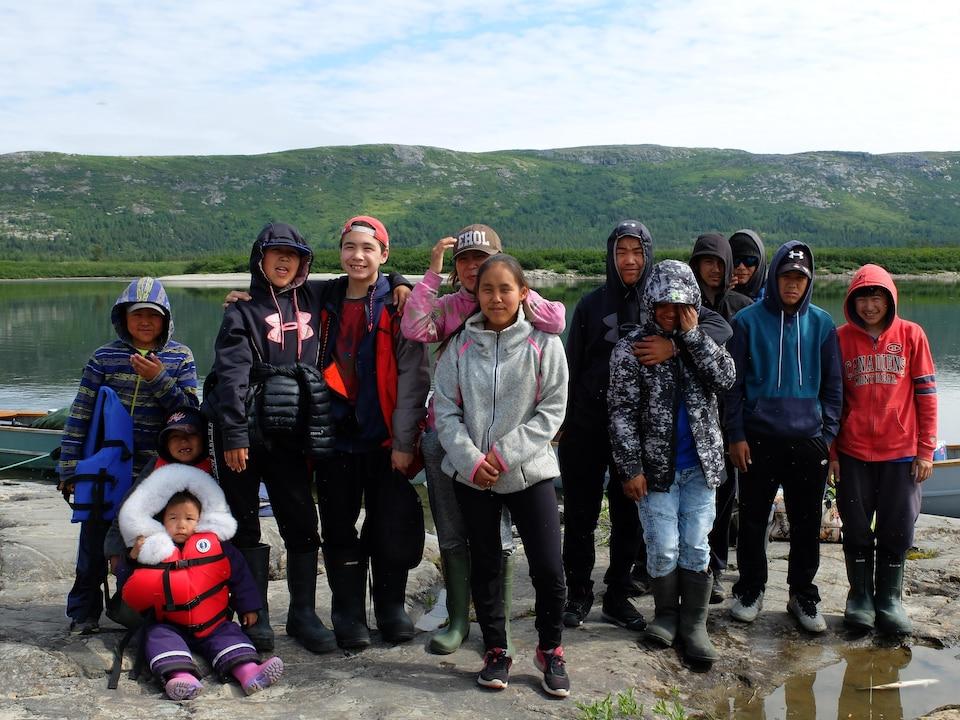De jeunes participants très intéressés et motivés par le projet Imalirijiit.