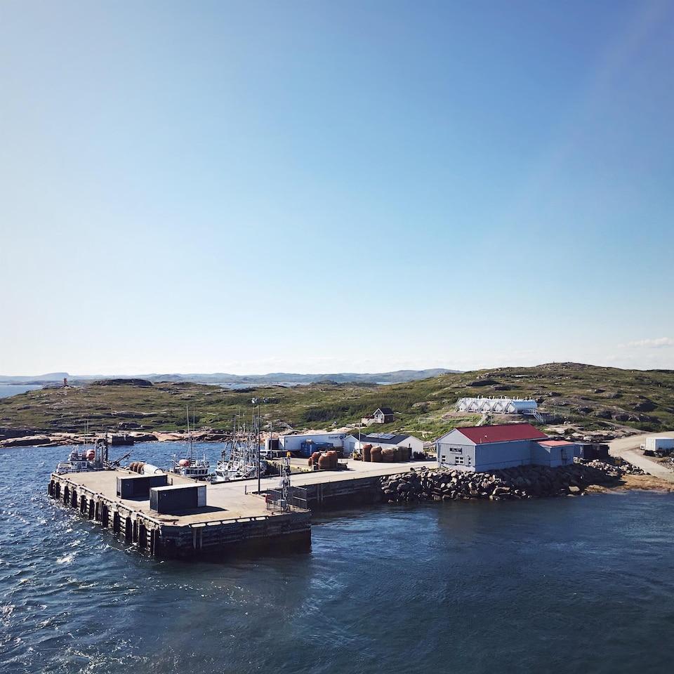Le quai de Tête-à-la-Baleine en Basse-Côte-Nord
