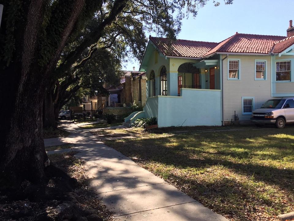 Le quartier de Broadmoor, qui a été dévasté par l'ouragan Katrina en 2005.