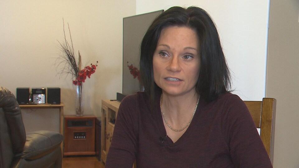 La porte-parole de l'Association québécoise de la maladie de Lyme, Rachel Guignard