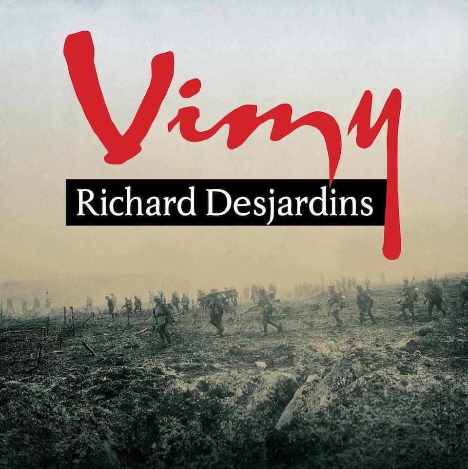 La pochette de la chanson «Vimy» de Richard Desjardins.