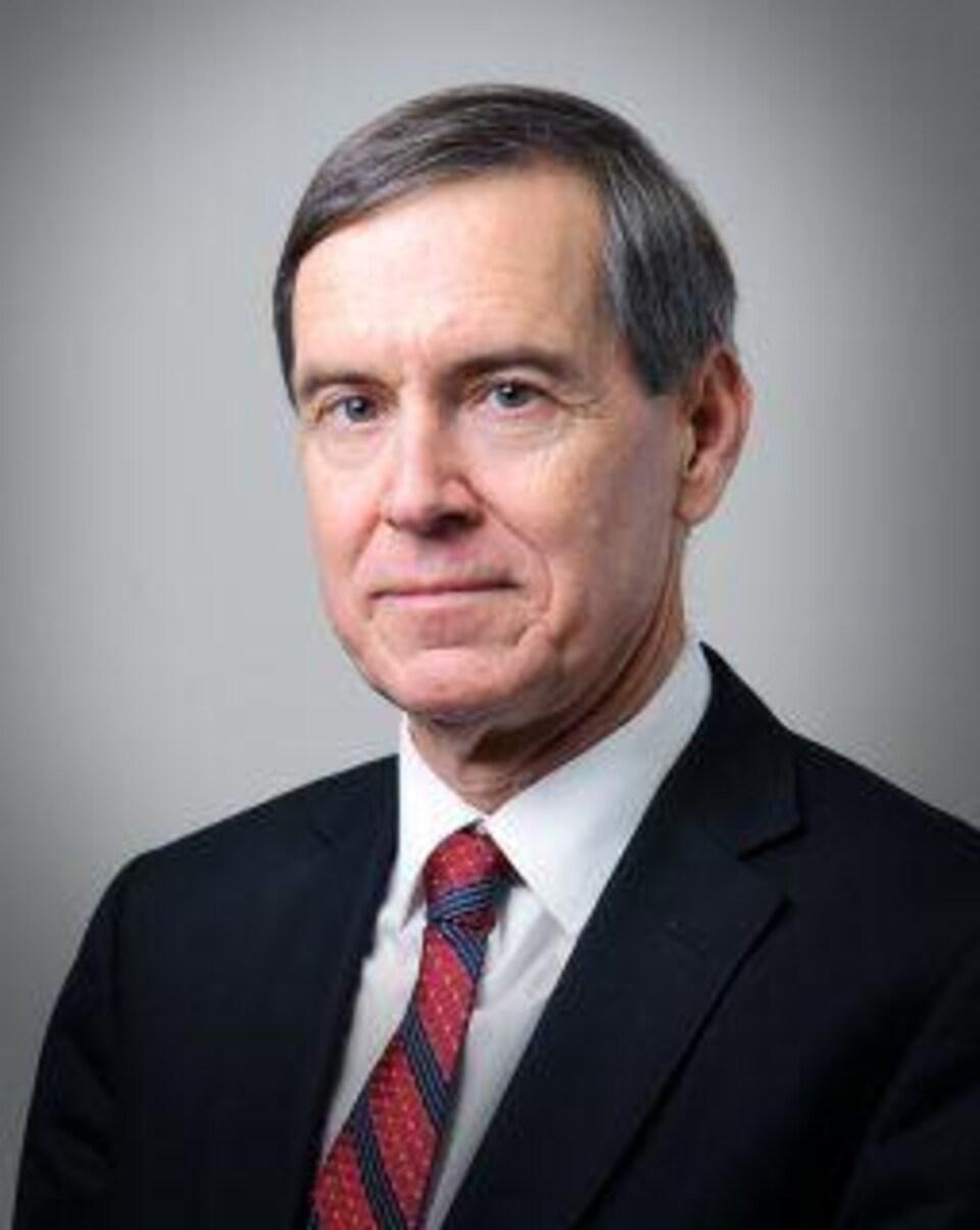 Le juge Richard LeBlanc.