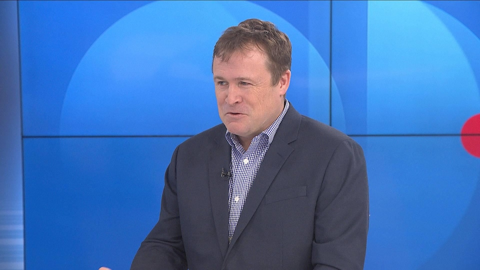 L'économiste Richard Saillant en entrevue au Téléjournal Acadie le 1er février 2019