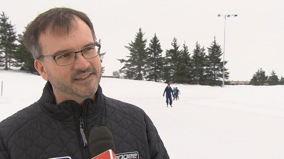 Robert Dubreuil, directeur général de la Fédération de patinage de vitesse du Québec